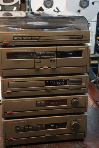 Luxman A-007, T-007, K-007, D-007 and P-007